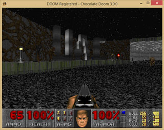Doomsday of UAC running under Chocolate Doom